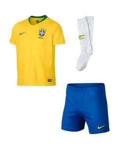 Brazil Nike Home Kit 2018/19 (Kids)