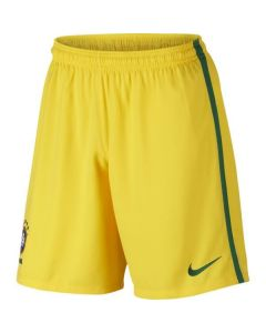 Brazil Kids Home Football Shorts 2016/17