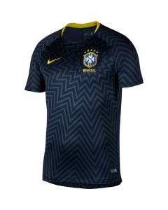 Brazil Nike Pre-Match Shirt 2018/19 (Adults)