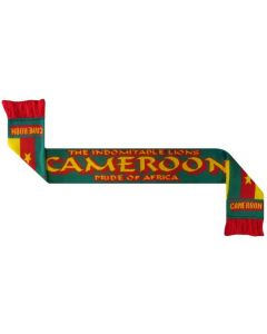 Cameroon Football Scarf