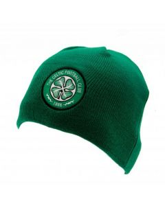 Celtic Green Knitted Hat