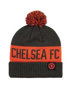 Chelsea Grey Pom Pom Hat 2019/20
