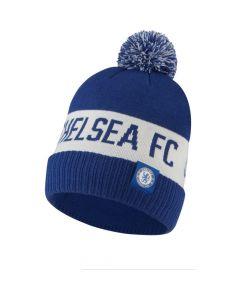 Chelsea Blue Pom Pom Beanie 2020/21