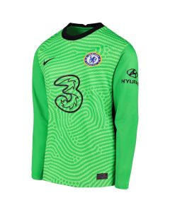 Chelsea Kids Green Goalkeeper Shirt 2020/21