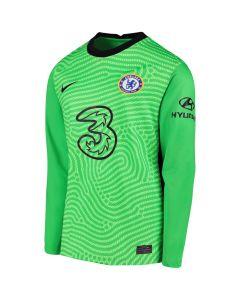 Chelsea Kids Green Goalkeeper Shirt 2020/21