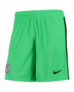 Chelsea Kids Green Goalkeeper Shorts 2020/21