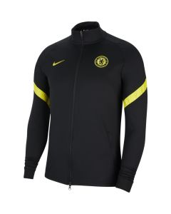 Chelsea Black Strike Track Jacket 2021/22