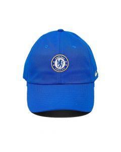 Chelsea blue baseball cap, front view