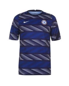 Chelsea navy pre-match jersey 20/21