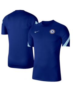 Chelsea 20/21 blue strike training jersey