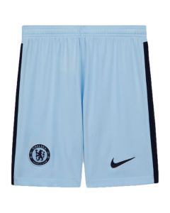 Chelsea kids away shorts 20/21