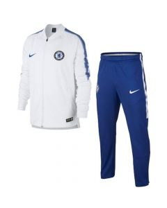 Chelsea Kids Squad Tracksuit 2017/18 (White)