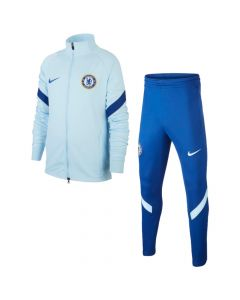 Chelsea Nike light blue strike tracksuit 20/21 (junior)