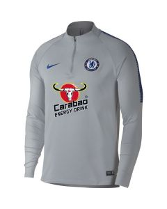 Chelsea Nike Grey Squad Drill Top 2018/19 (Adults)