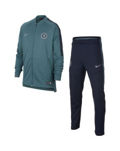 Chelsea Nike Squad Knit Teal Tracksuit 2018/19 (Kids)