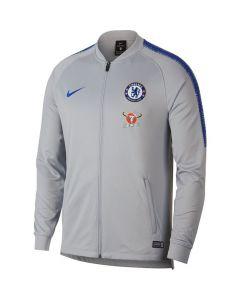 Chelsea Nike Grey Squad Track Jacket 2018/19 (Adults)