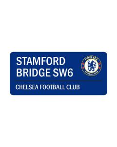 Chelsea Stamford Bridge Street Sign