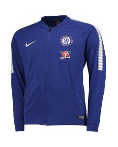 Chelsea Squad Track Jacket 2017/18 (Blue)