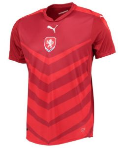 Czech Republic Euro Home Football Shirt 2016-17