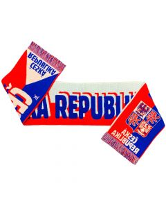 Czech Republic Football Scarf