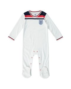 England 1982 Retro Baby Sleepsuit