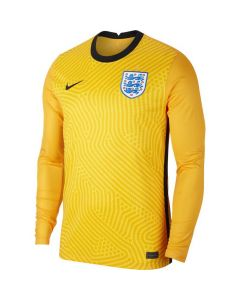 England Kids Yellow Goalkeeper Shirt 2020/21