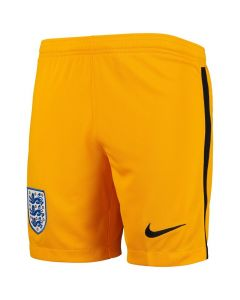 England Kids Yellow Goalkeeper Shorts 2020/21