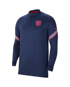 England navy quarter zip training top 20/21