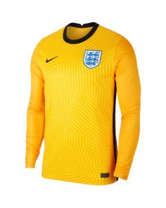 England 20/21 yellow goalkeeper shirt