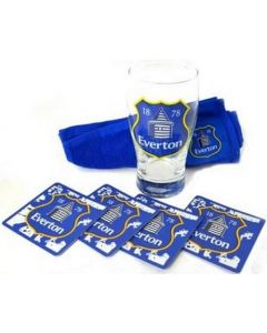 Everton Large Crest Mini Bar Set