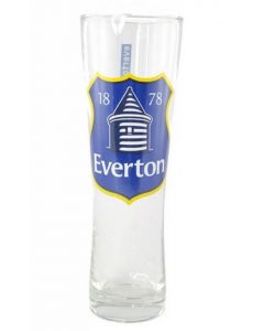 Everton Crest Peroni Glass