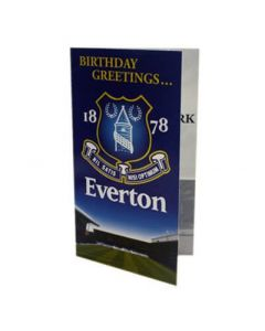 Everton Birthday Card