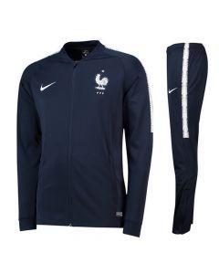 France Nike Squad Tracksuit 2018/19 (Navy)