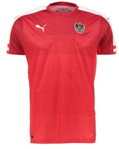 front - Austria Euro Home Football Shirt 2016-17