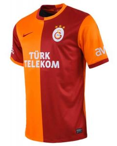 Galatasaray Kids (Boys Youth) Home Football Shirt 2013 - 2014