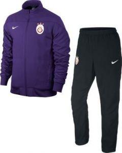Galatasaray Purple Woven Sideline Tracksuit 2013-14