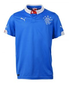Glasgow Rangers Kids (Boys Youth) Home Jersey 2014 – 2015
