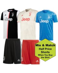 Juventus Adults Shirt and Shorts Bundle 2019/20