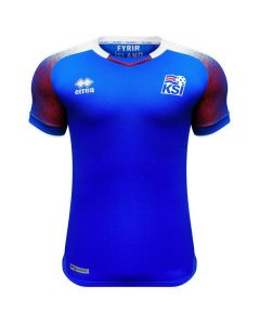Iceland Errea Home Shirt 2018/19 (Adults)