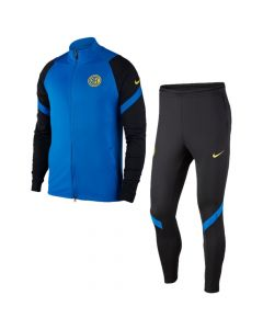 Inter Milan blue strike tracksuit 20/21