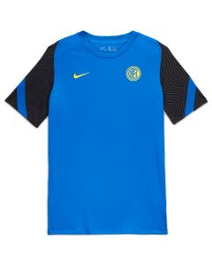 Inter Milan blue strike training jersey 20/21