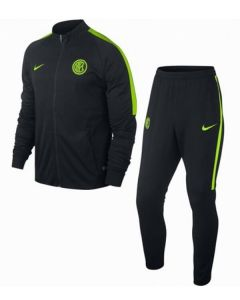 Inter Milan Kids Dry Warm-Up Tracksuit 2016-17 (Black)