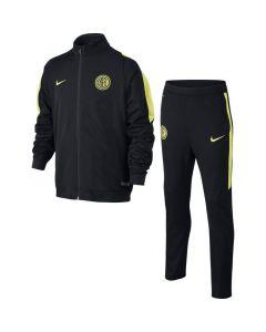 Inter Milan Kids Sideline Tracksuit 2015 - 2016 (Black)