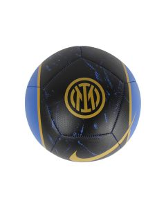 Inter Milan Club Crest Shown On The Front Of The Pitch Soccer Ball