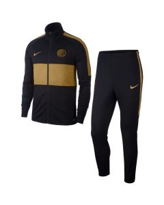 Inter Milan Nike Strike Tracksuit 19/20 Black-Gold