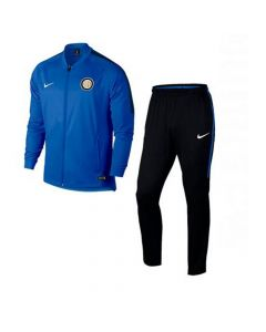 Inter Milan Kids Dry Warm-Up Tracksuit 2017/18 (Blue)