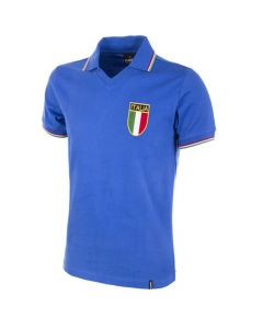 Italy 1982 World Cup Retro Home Shirt