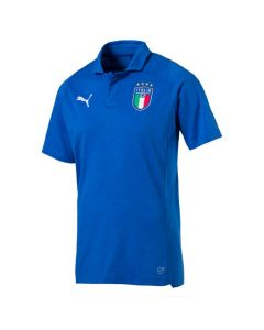 Italy Puma Casual Blue Polo Shirt 2018/19 (Adults)