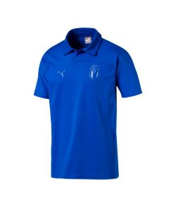 Italy Puma Blue Polo Shirt 2018/19 (Adults)