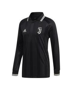 Juventus Black Icons Long Sleeve Top 2019/20